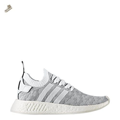 Adidas Women's NMD R2 FTWWHT/FTWWHT/CBLACK 8.0 - Adidas sneakers for women (