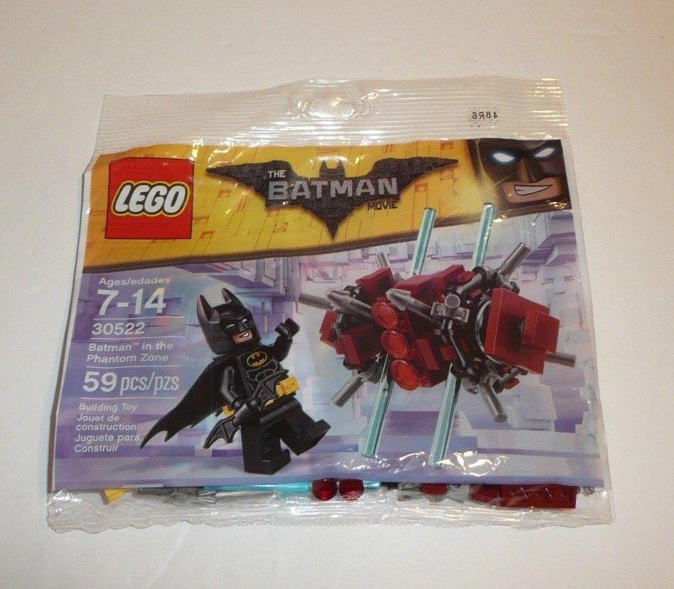 LEGO BATMAN MOVIE MINIFIGURE POLYBAG PHANTOM ZONE 30522 BUILDING TOY