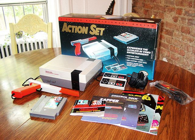 Nintendo Entertainment System Action Set    The best video game system ever made?