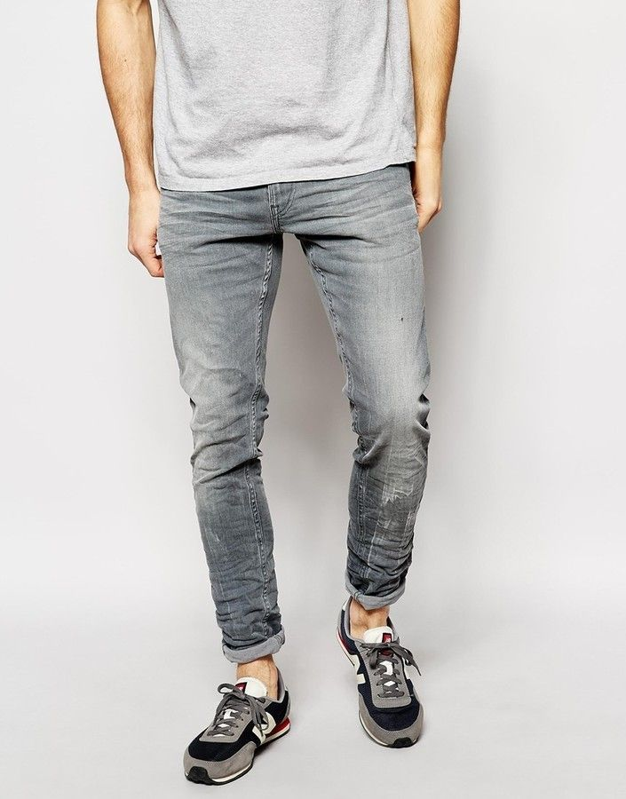 Jondrill Skinny Jeans Grey - Grey 009 Replay