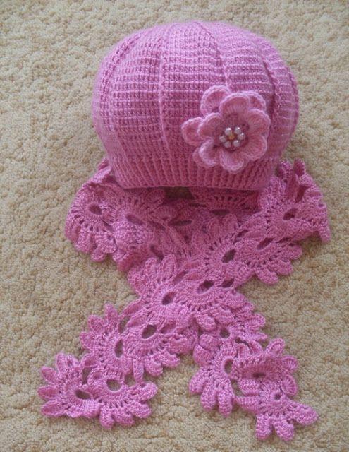 Delicadezas en crochet Gabriela: Gorros para niñas / Patrones ...