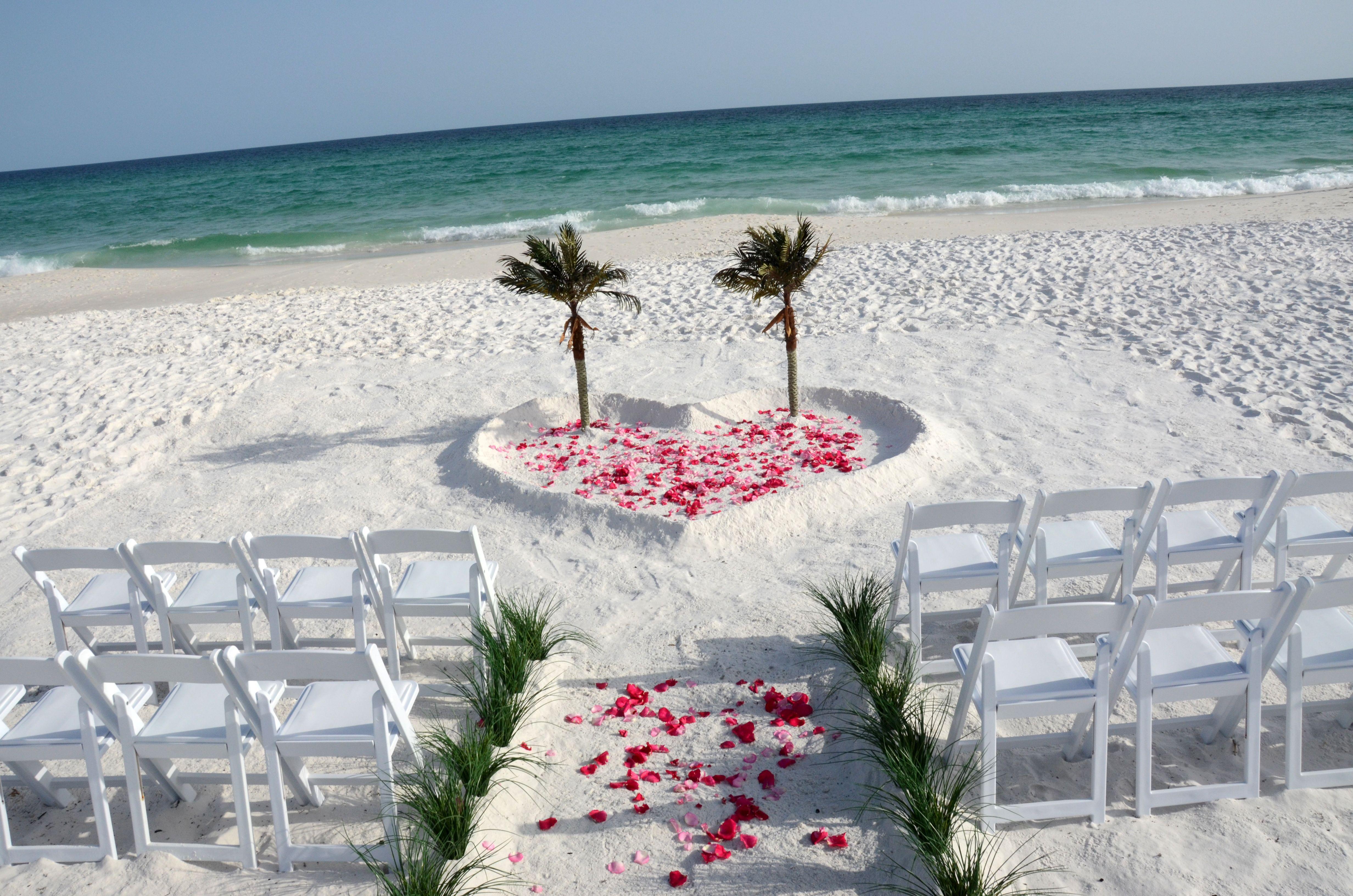 Miramar Beach , Florida destination beach wedding. Photo