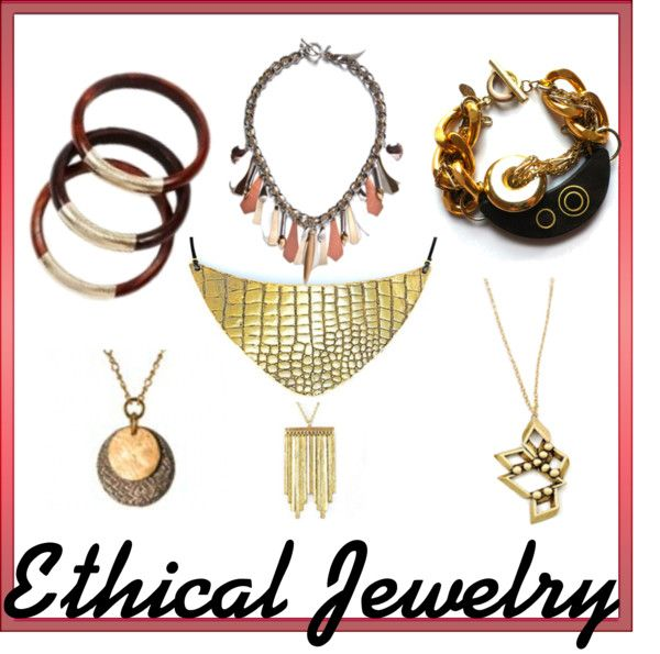 """Ethical Jewelry"" by heartsleeves on Polyvore"