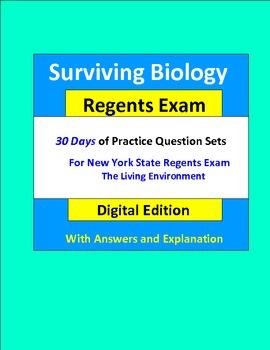 Surviving Biology Regents Exam: Questions for Exam Practice