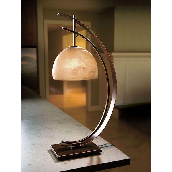 Half Moon Desk Accent Table Lamp Lamp Decor Lamp Table Lamp