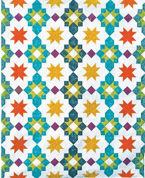 Moroccan Lanterns PDF Quilt Pattern