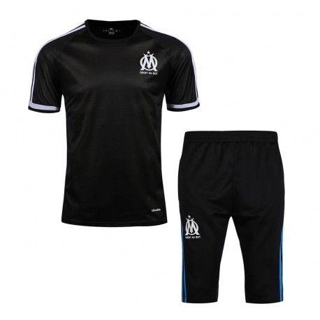 Maillot Training Marseille Noire