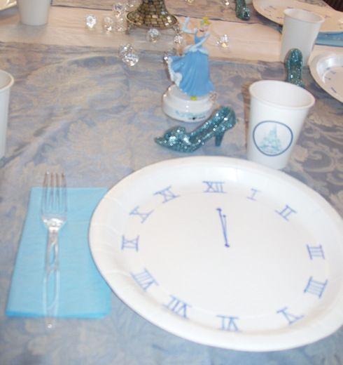 Cinderella Birthday Party Ideas & Cinderella Birthday Party Ideas | Clocks Birthdays and Birthday ...