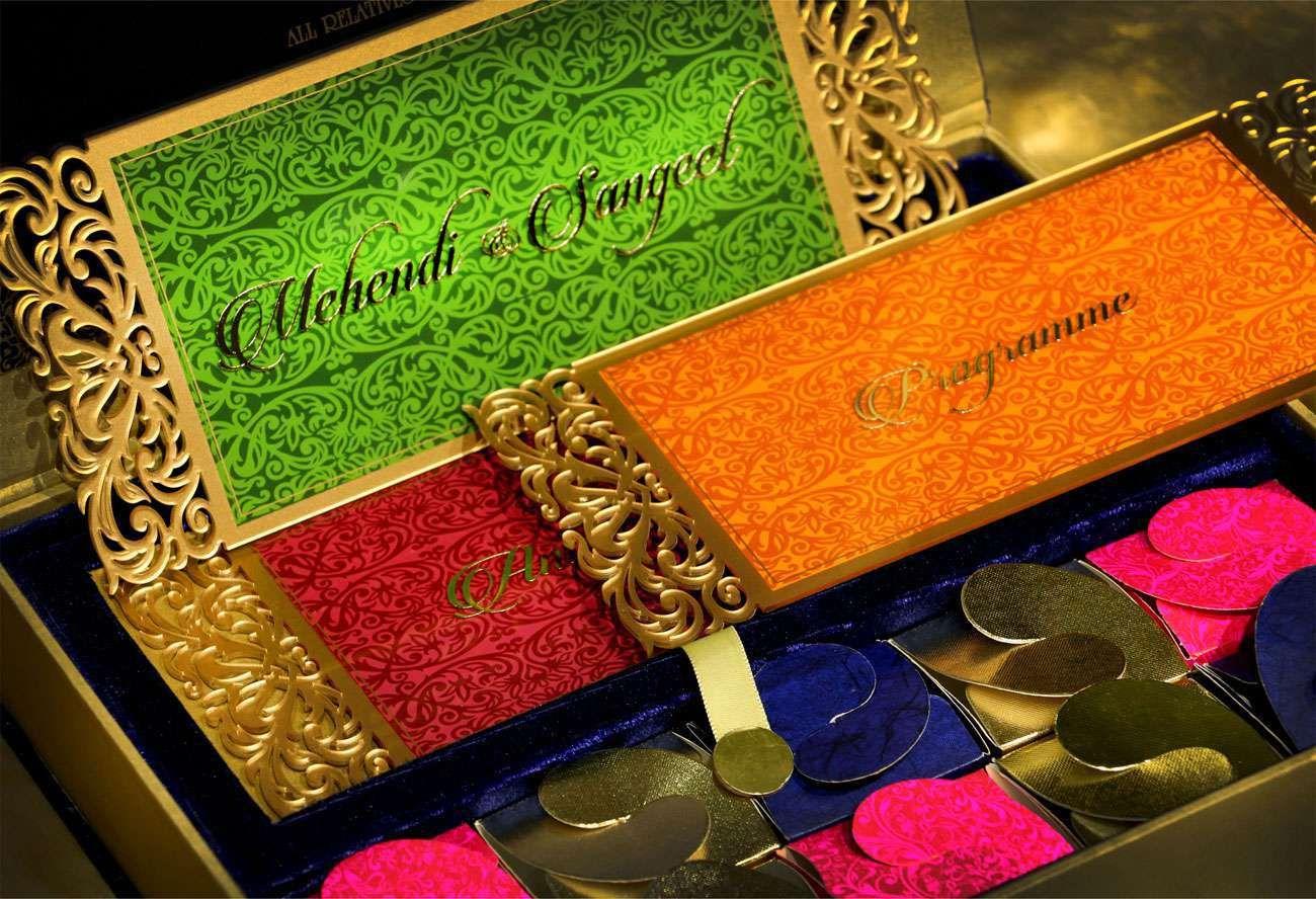VWI - New Delhi -DESIGNED-ACRYLICVWI-10062 #Wedding #card #designer ...