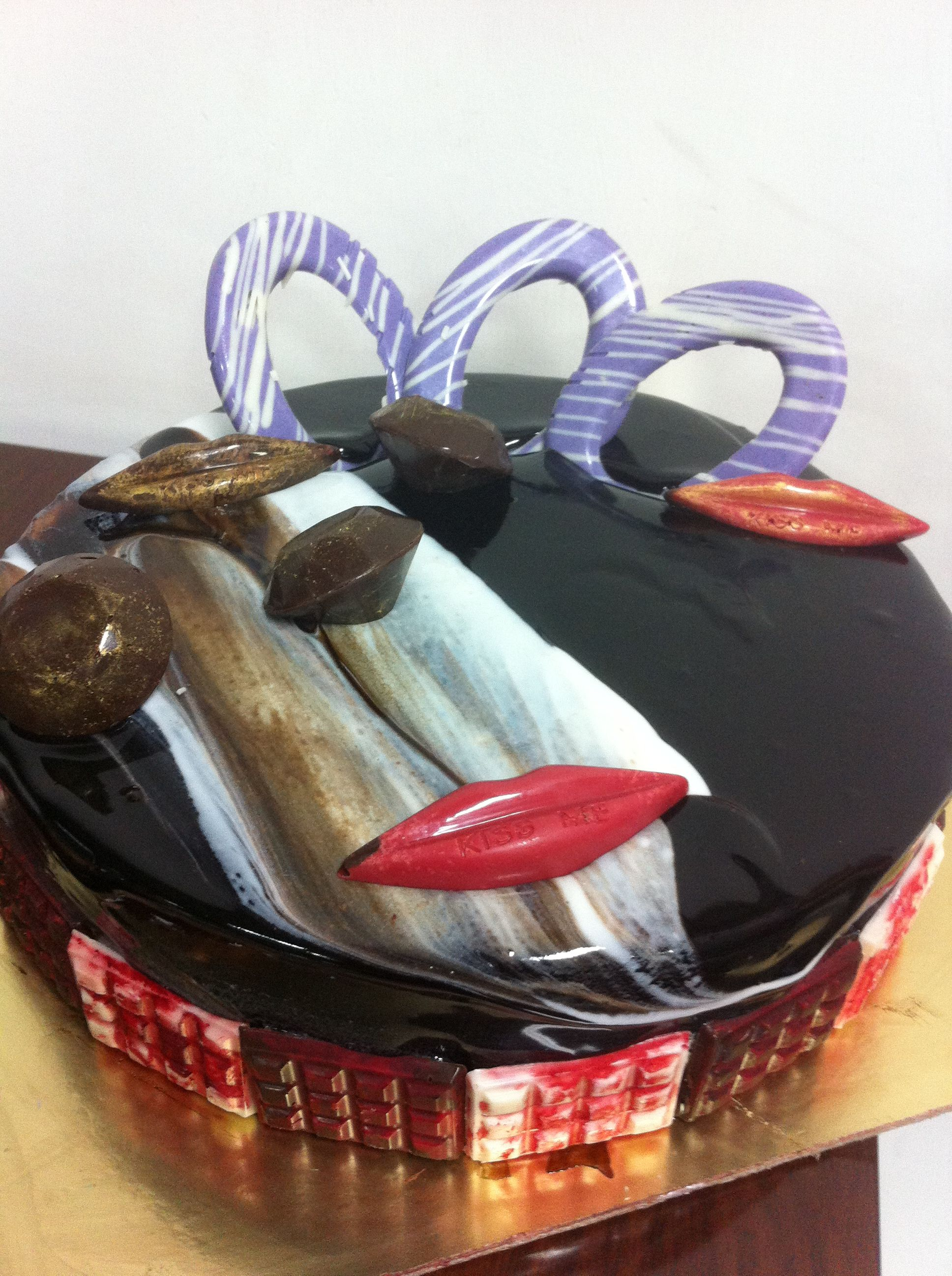 Devils Food Eggless Chocolate Cake | Eggless chocolate ...
