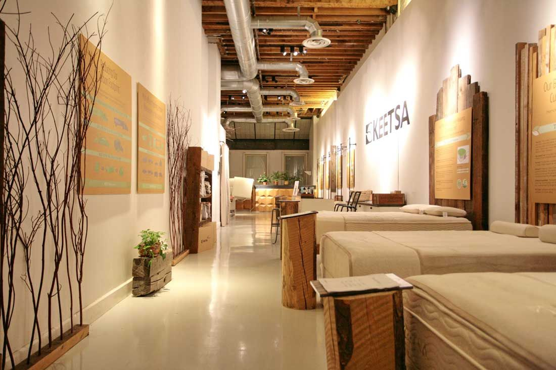 keetsa eco friendly mattress new york store organic mattresses