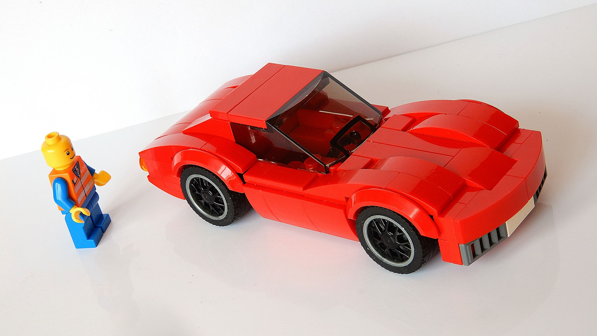 Chevrolet Corvette Stingray C3 Updated Moc 4k Lego Cars