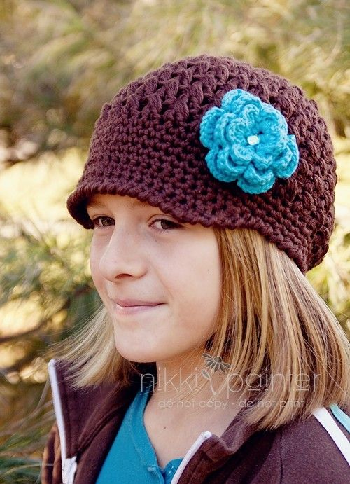 Girl\'s CHILD TWEEN Funky Chunky Newsboy Hat by sourapplestitches ...