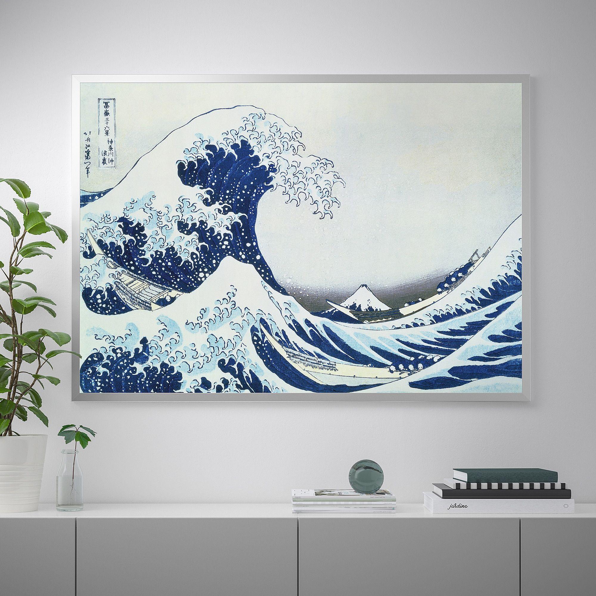 Cartina Mondo Ikea.Ikea Us Furniture And Home Furnishings Japanese Waves Japanese Wave Painting Wave Painting