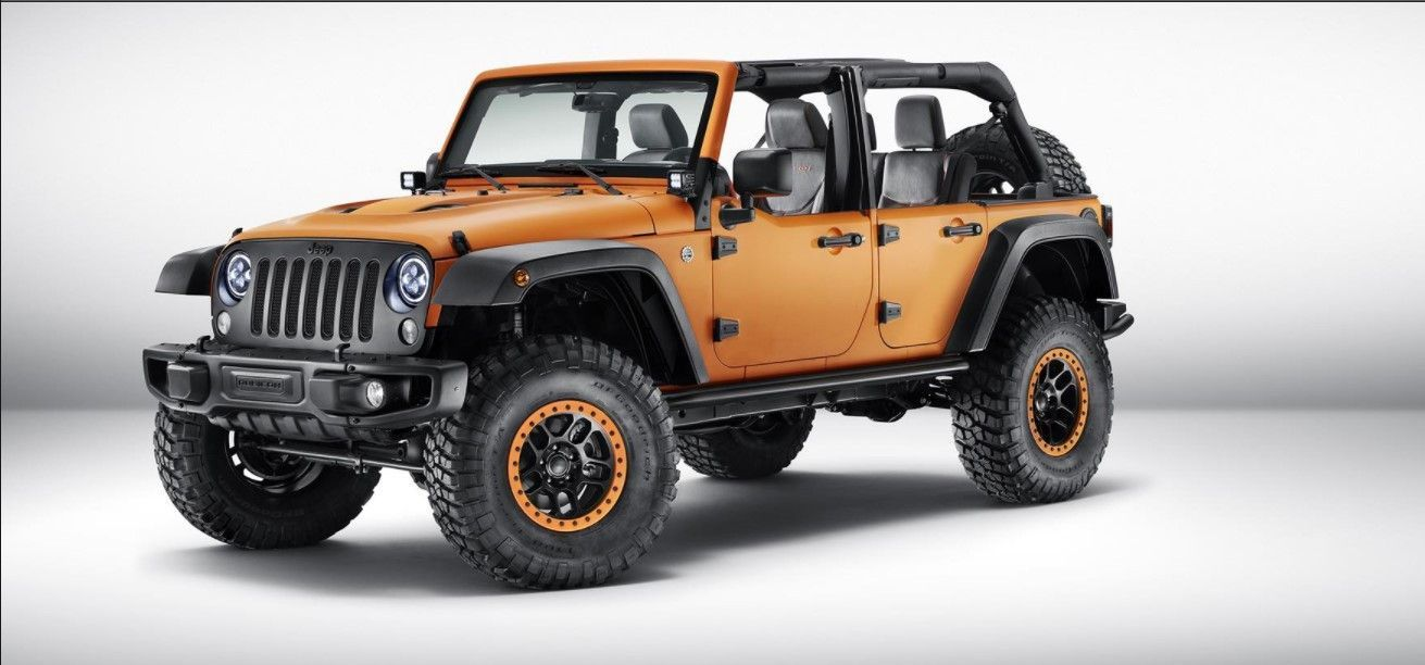 2020 Jeep Wrangler Unlimited Exterior Jeep Wrangler Accessories