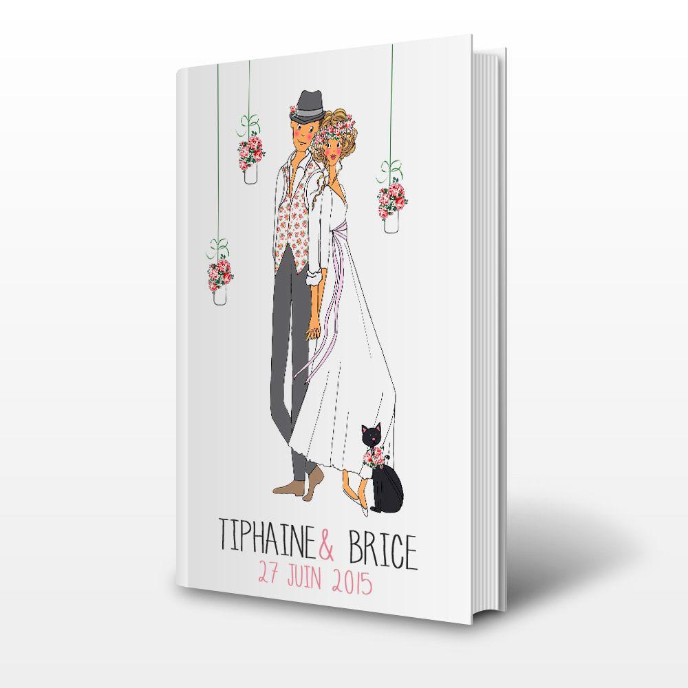 livre d 39 or personnalis l 39 image des mari es mariage. Black Bedroom Furniture Sets. Home Design Ideas