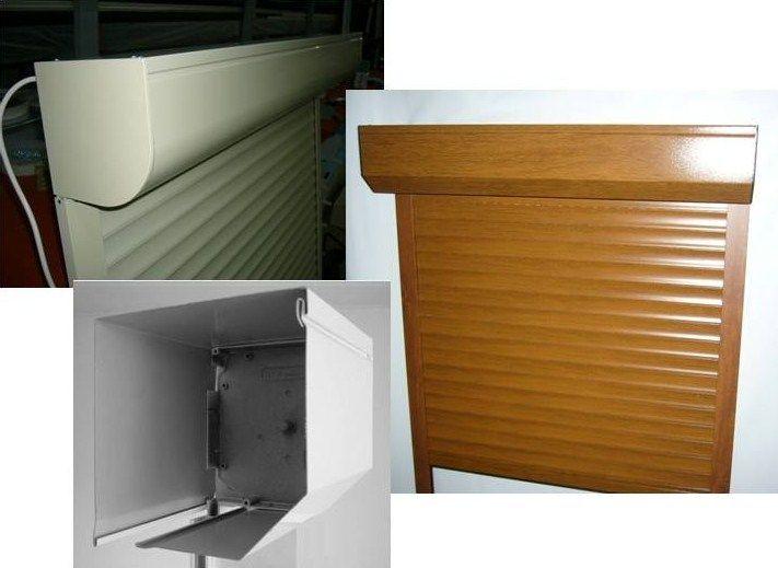 Estores exteriores compactos com caixa imcorporada em pvc - Estores para exterior ...