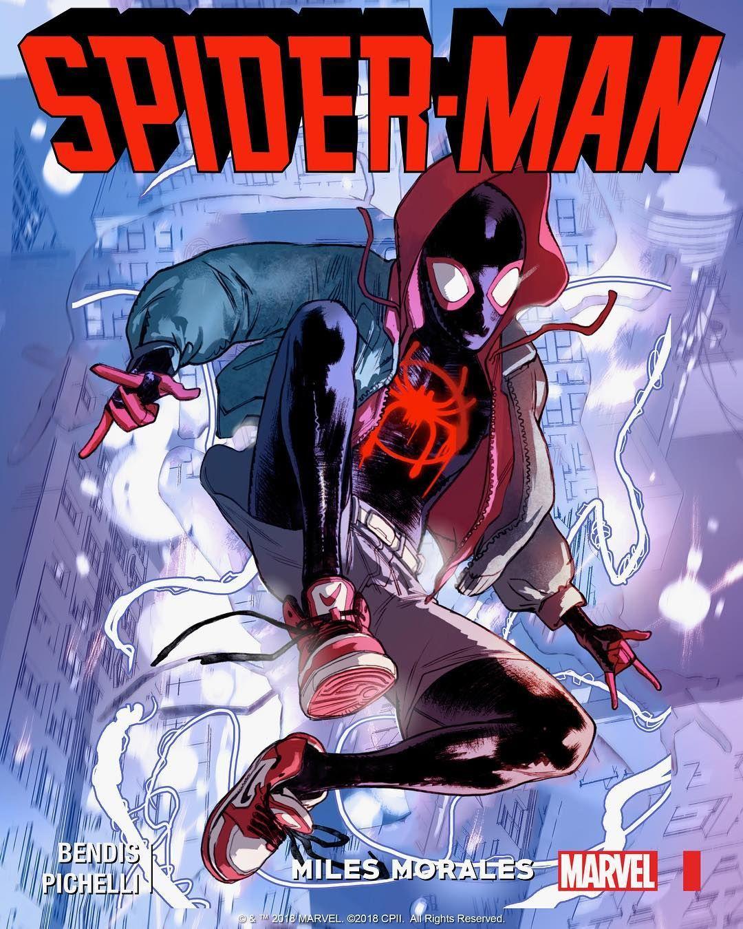 a09079954a9 I am Spider-Man. I am Miles Morales.  SpiderVerse  CCXP18 ...