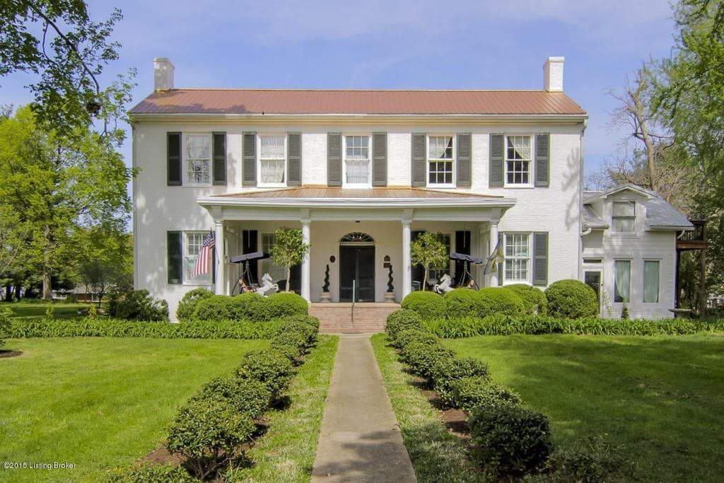 Bashford manor lane louisville kentucky house exterior