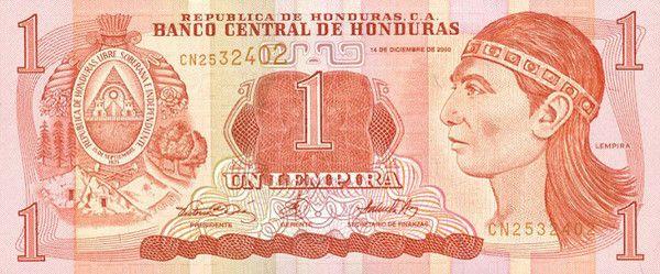 Compre Un Camisa Con Lempira Dollares La Currencia Era Mas