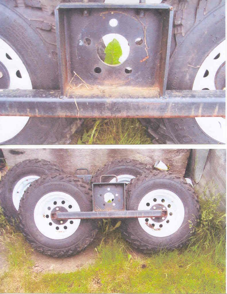 Atv Quot Walking Beam Trailers Quot Yamaha Grizzly Atv Forum In