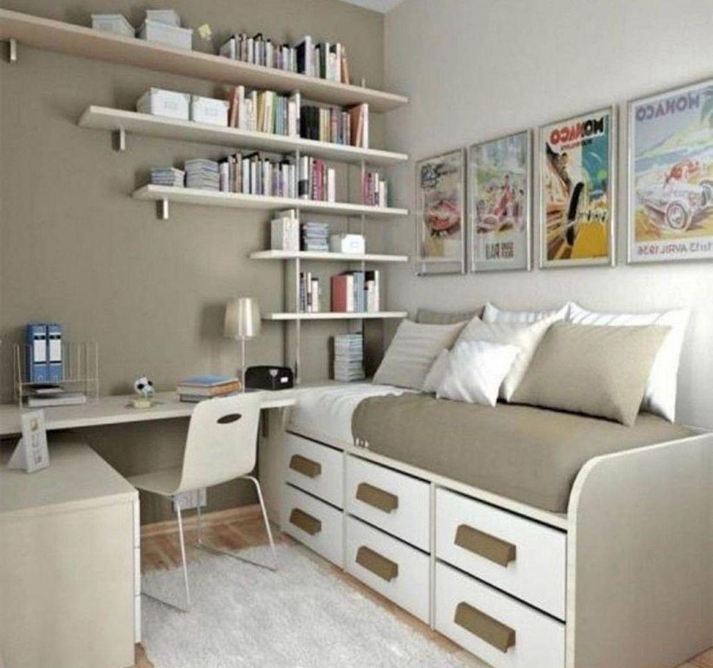Wonderful Bedroom Storage Design Ideas 14 Small Space Storage Bedroom Small Bedroom Storage Bedroom Storage For Small Rooms Space saving bedroom designs