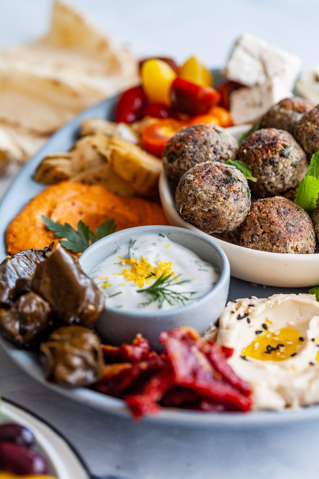Vegan Greek Meatballs Keftedakia