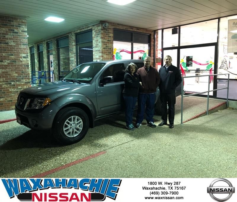 Congratulations Cynthia on your Nissan Frontier from