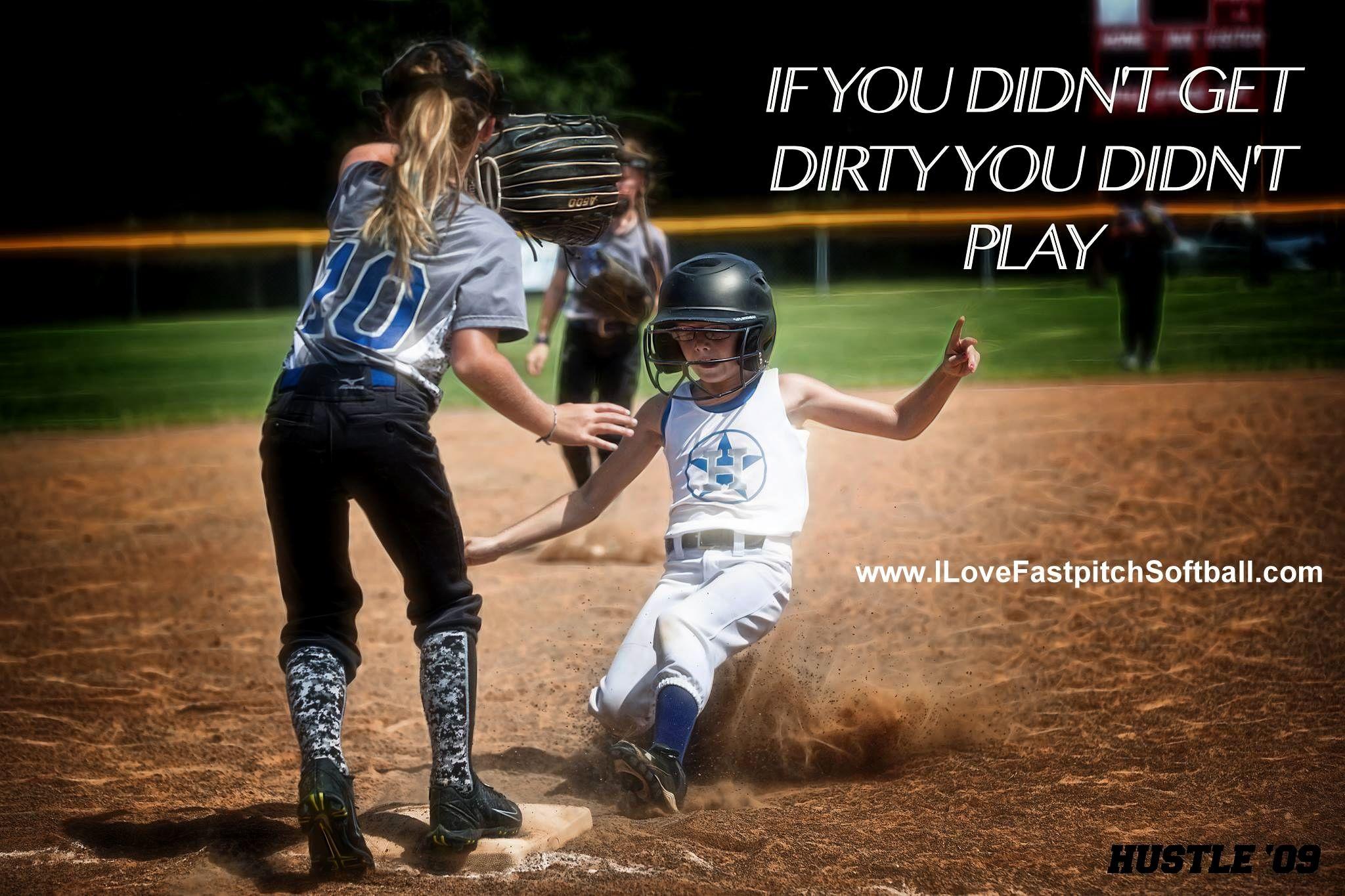 Get Dirty Fanmeme Softballmeme Ilovefastpitchsoftball
