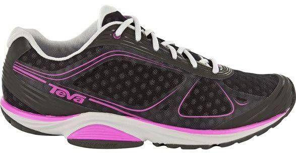 #Teva Women Tevasphere Trail Shoes in Black