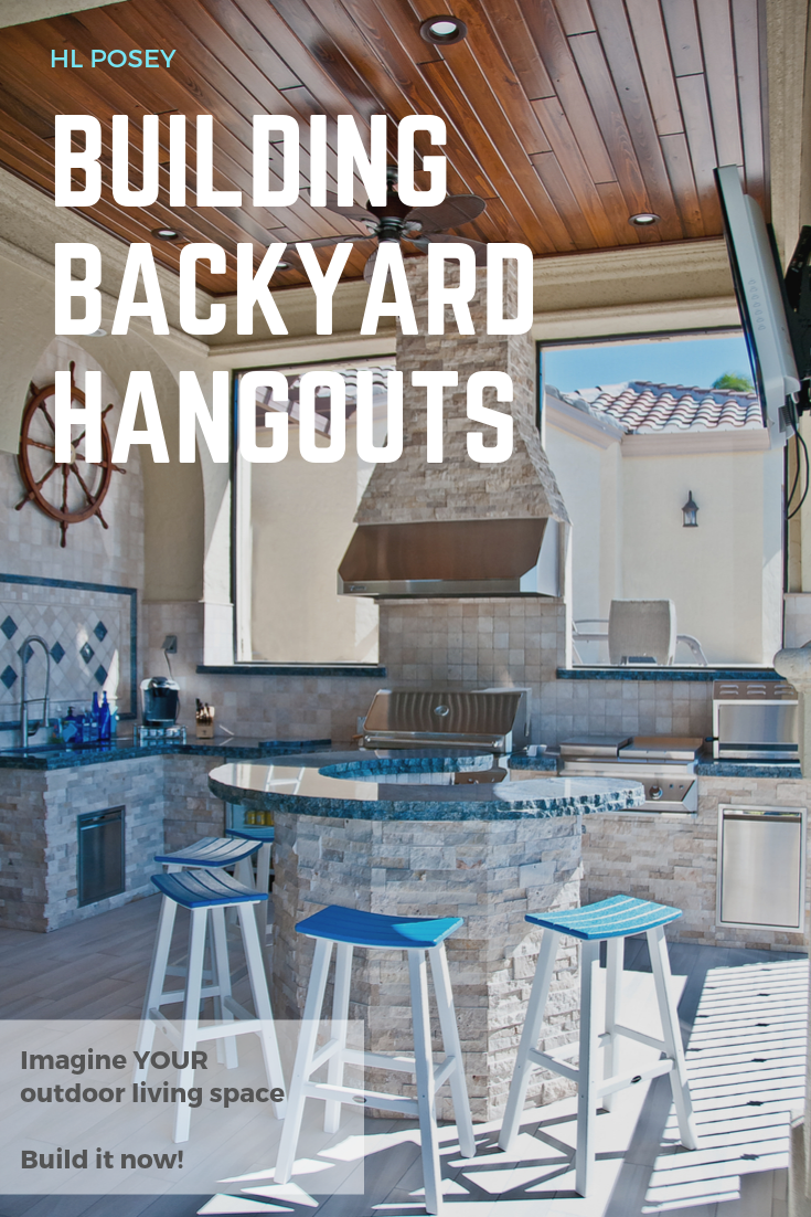 Builders Of Outdoor Kitchens And Just About Anything Else In Your Backyard And Not To Mention The Arch Enemy Of That O Backyard Buildings Build Outdoor Kitchen Backyard
