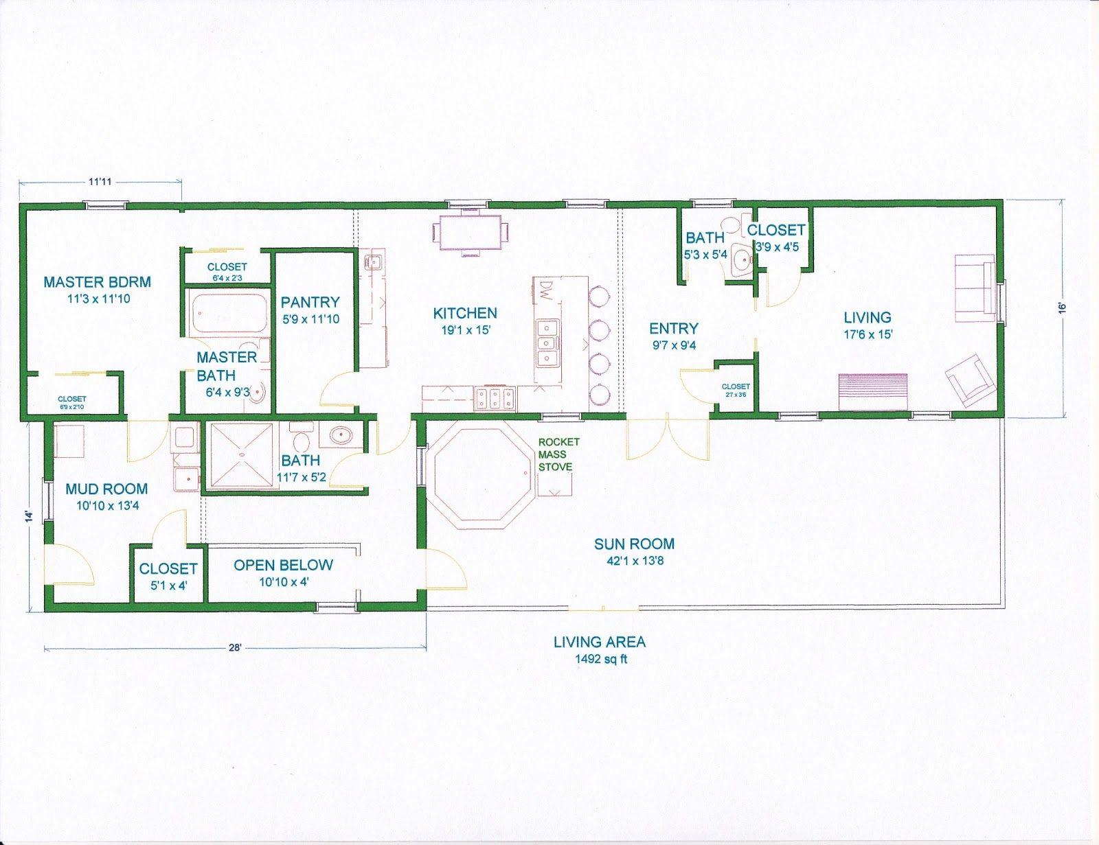 Open Floor Plans For Homes With Open Concept Floor Plans