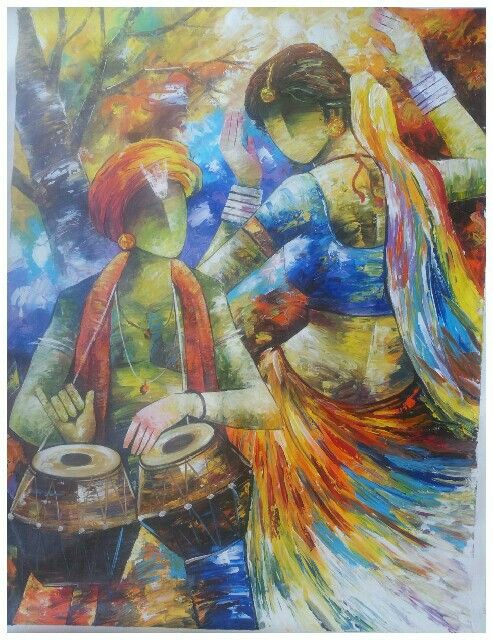 Check Out What I Made With Picsart Indian Art Indian Art Paintings