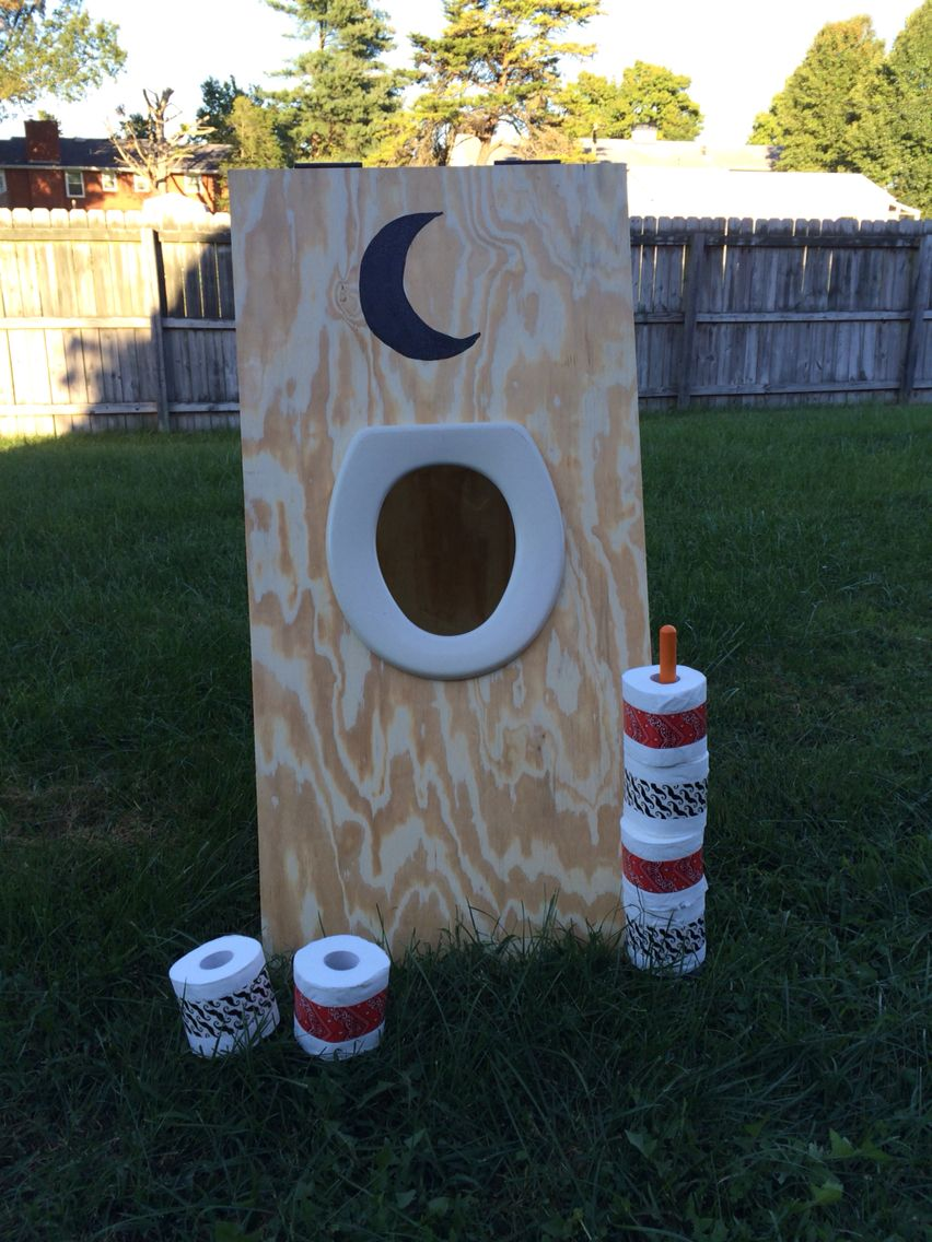 carnival game frisbee toss game carnival games tossed and homemade