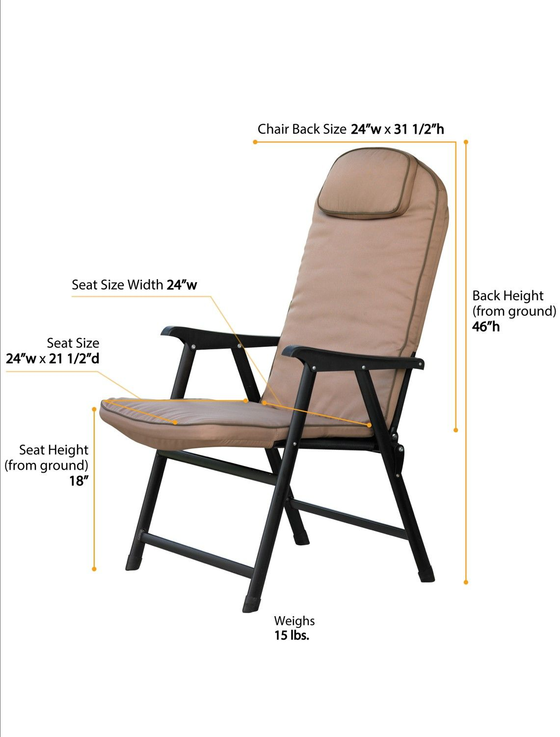 Comfortable Folding Chairs With Arms