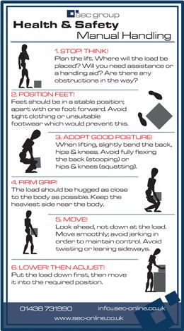 Health  Safety Manual Infographic  Sec  Infographics