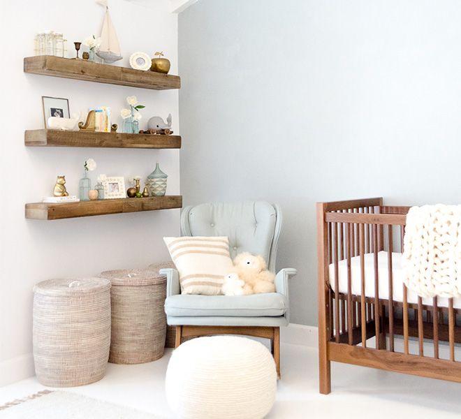 Baby Nash S Vintage Nautical Nursery: Home Makeover: Liam's Sweet & Serene Nursery