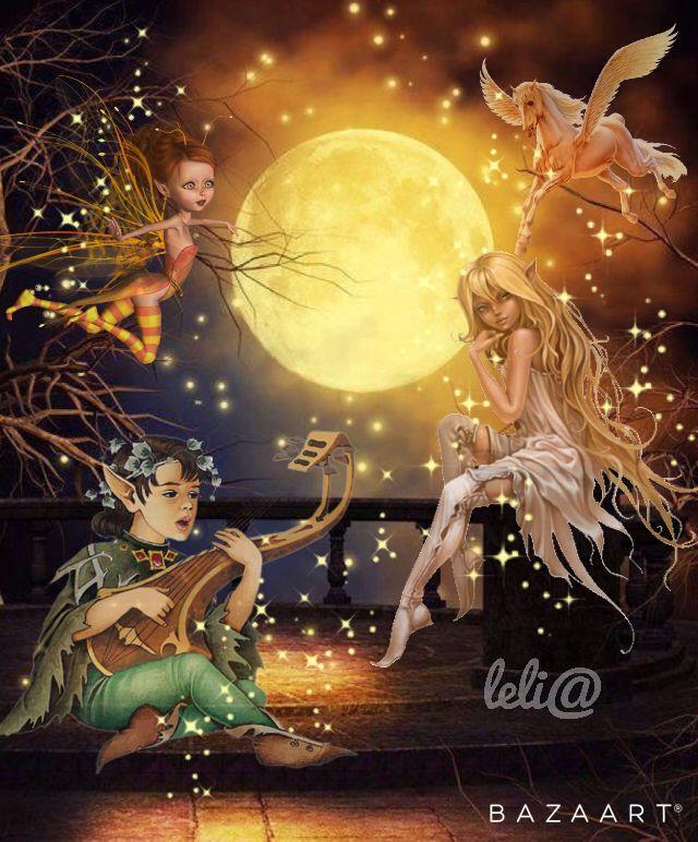 Noite de Lua Cheia...   Full Moon Nigth... - Lelia  Sarda
