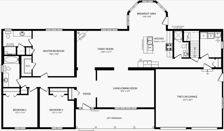 good open bungalow floor plans #5: Bayfield - Quality Homes www.qualityhomes.ca · Bungalow Floor PlansBungalowsHouse  ...