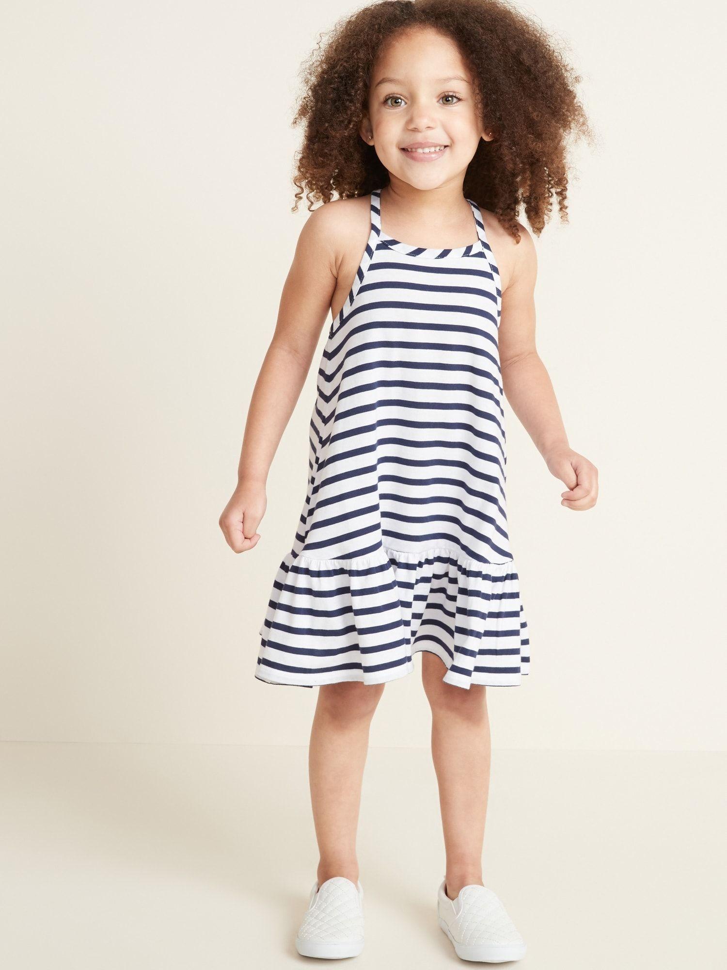 Sleeveless Tiered Swing Dress For Toddler Girls Old Navy Toddler Girl Dresses Kids Dress Designer Childrens Clothes [ 2000 x 1500 Pixel ]