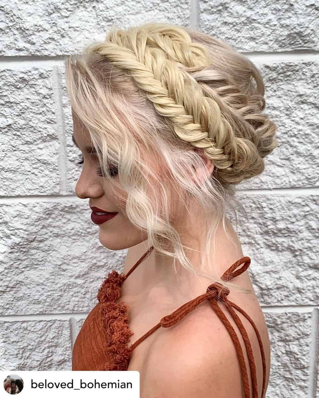 15 Incredibly Cute New Year S Eve Hairstyles 2020 Tutorials Included Braided Hairstyles Bohemian Hairstyles Easy Hairstyles