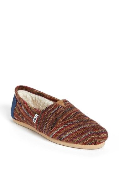 TOMS  Classic - Rust Knit  Slip-On (Women) available at  Nordstrom ... 4161c85b43