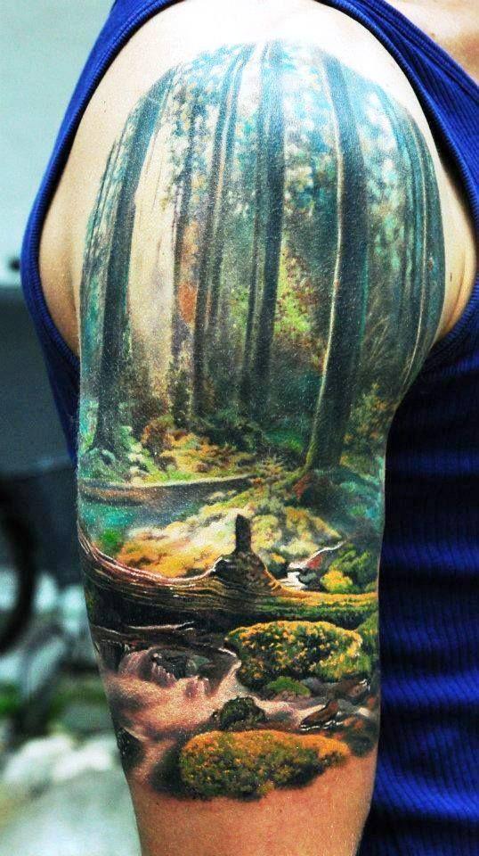 tatuaje en hombro..