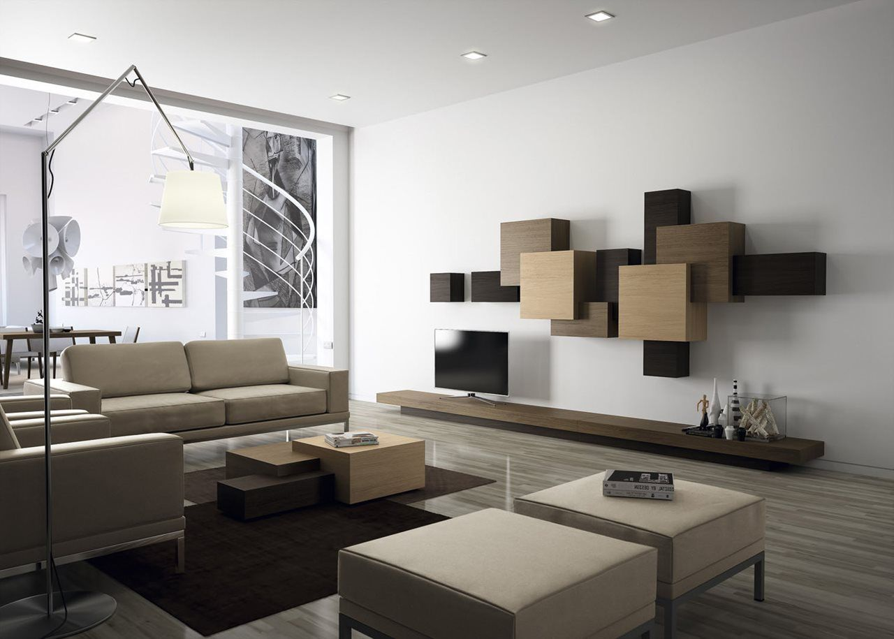 Modern Interior Design Of A Duplex Apartment In New York Http  # Muebles New Style Villa Tesei