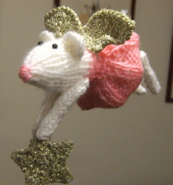 Oh gosh...how cute are these? Furry Fairies pattern by Alan Dart.