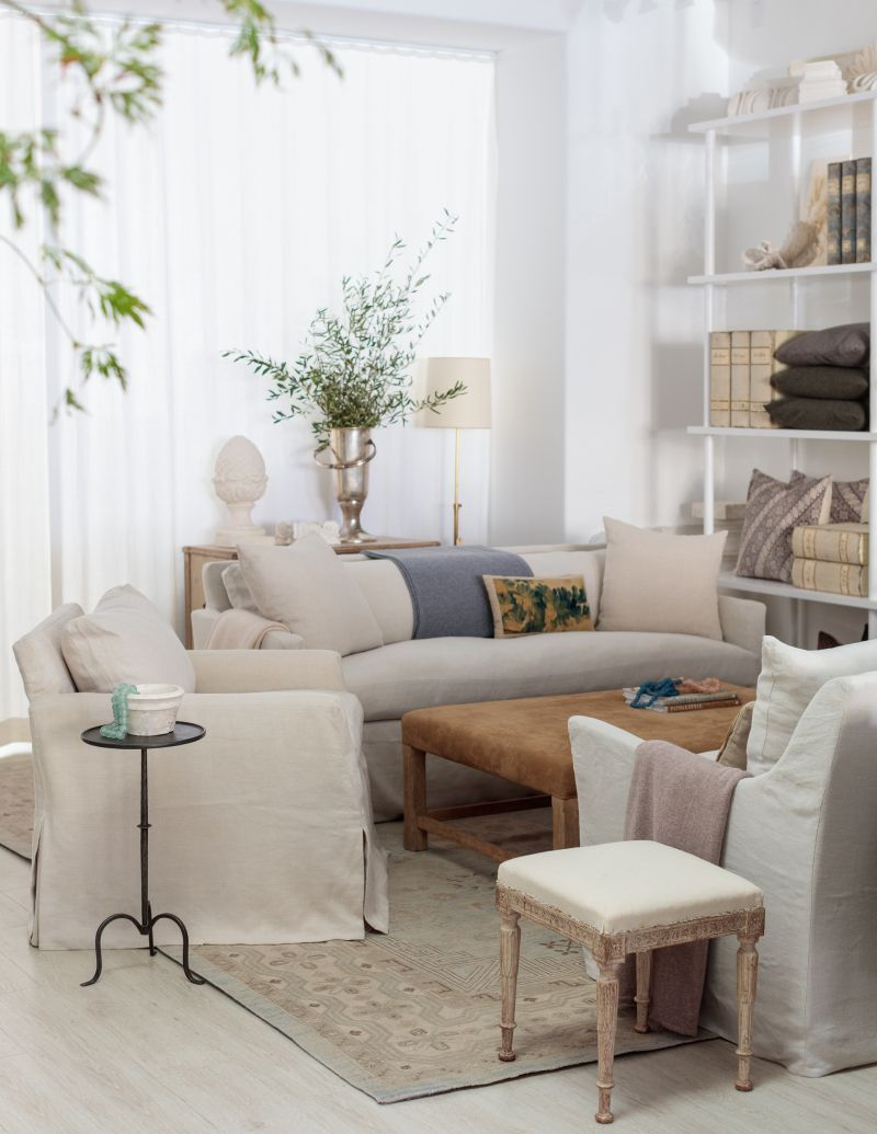 Giannetti Home Santa Barbara Is Open Living Room Remodel