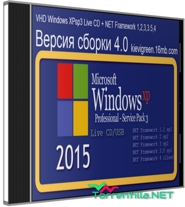 Live-cd windows xp торрент