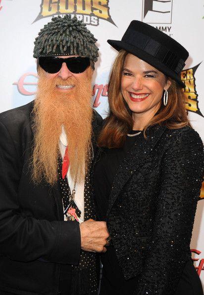 Billy Gibbons mit lieber, Ehefrau Gilligan Stillwater