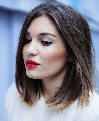 Mittellang Haarschnitt Jpg 410 500 Pixel Schulterlange Haarschnitte Frisuren Schulterlang Haarschnitt Kurz