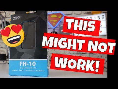 Deepcool FH 10 PWM 10 Port SATA Powered PC Fan Hub Splitter